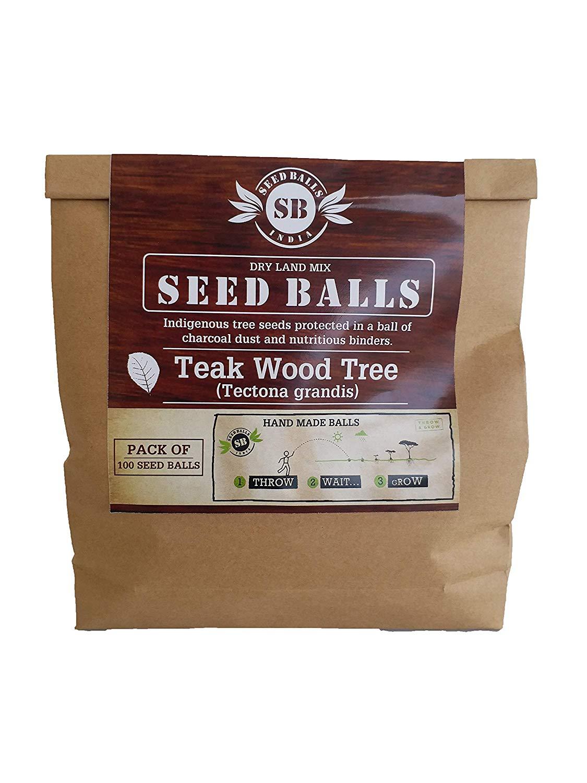 Teakwood Seed Balls