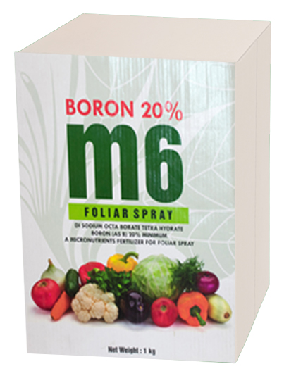 DI SODIUM OCTA BORATE TETRA HYDRATE' BORON (as B) 20%