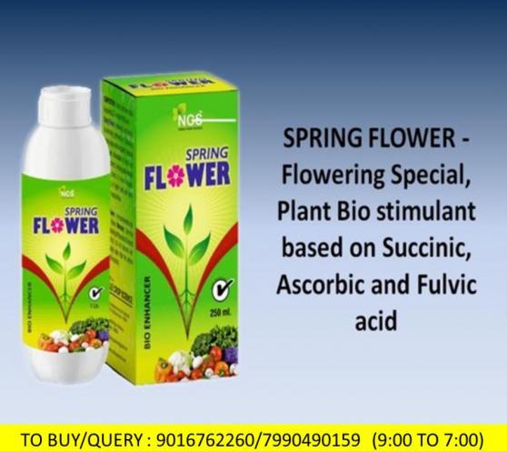 SPRING FLOWER - Flowering Special, Plant Bio stimu