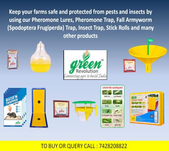 Green Revolution - All types of pheromones traps and lure