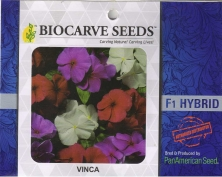 PanAm Premium High Quality Hybrid F1 Vinca Mix